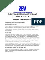 ZEV Manual