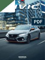 Catalogo Civic 5p 2017(Accesorios)