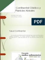 Talud Continental Clástico y Planicies Abisales (2).pptx