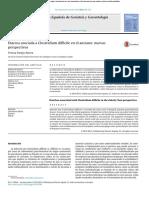 01 Diarrea Asociada a Clostridium Difficile en El Anciano - Nuevas Perspectivas
