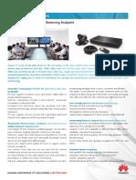 Huawei Videoconferencing HD Endpoint TE Series Datasheet_2014!11!13