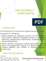 Micosis Sistemica y Oportunistas