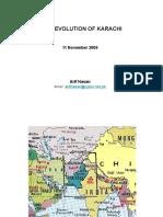 Evolution of Karachi Arif Hassan