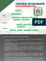 PROCESO CONTRUCTIVO DE CANALES DE RIEGO. 2010.ppt