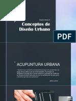 Conceptos de Diseño Urbano