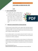 Declaracion de Los Derechos Del Niño. Trabajo