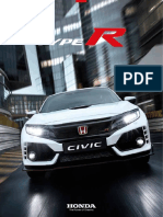 Catalogo Civic Type r 2017 17YM