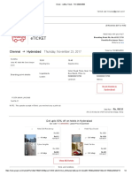 Mummy Ticket RedBus Ticket - TKCG89344583