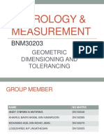 Metrology Measurement Slide Present