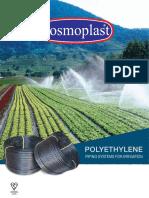 LDPE Irrigation Pipes - Cosmoplast