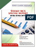 Mcx Special Report