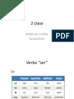 clase 2 de español