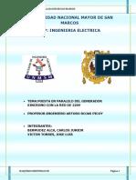 Informe g.s Puesta en Paralelo-maquinas III