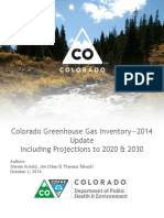 Colorado Greenhouse Gas Inventory 2014