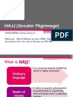 HAJJ (Greater Pilgrimage)