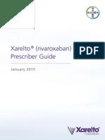 Xarelto Prescriber Guide-Bayer2015