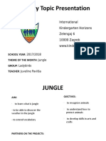 Ladybirds Monthly Report