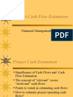 642Cash Flow Estimation