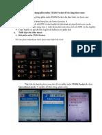 Hướng Dẫn Sử Dụng Sử Dụng Phần Mềm TEMS Pocket