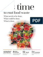 It is Time to End Food Waste