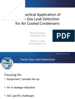 Andy Leavitt the Practical Application of Tracer Gas Leak Detection for Air Cooled Condensers