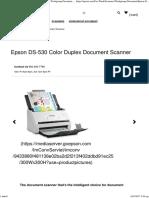 Epson DS-530 Color Duplex Document Scanner _ Workgroup Document _ Scanners _ for Work _ Epson US