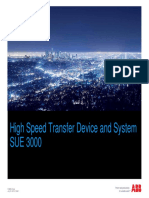 ABB High Speed Transfer System Presentation