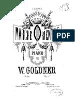GRAND BATT-WGoldner Marche Orientale, Op.28
