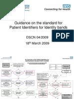 Guidance on DSCN 04-2009 ~nt Identifiers v 2.1