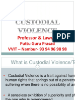 Custodial Violence Pgp 1