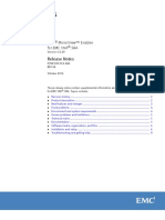 EMC Mirrorview Enabler for VNX SRA v5.0.39.139 Release Notes