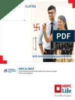 HDFC SL Crest Brochure