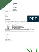 Proposal Permintaan GDS