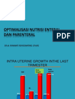 9. Optimalisasi Nutrisi Enteral Dan Parenteral (New Version)