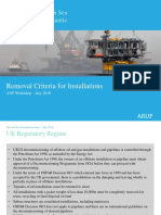 O&G Decommissioning Removal Criteria 2016