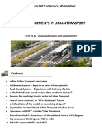 13. PPP Arrangements in Urban Transport - HMS and Gautam Patel