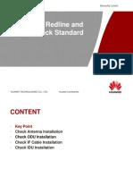 Installation Redline and Quality Check Standard