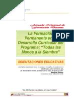 Desarrollo Curriculat Del Ptms