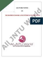 MPI Notes