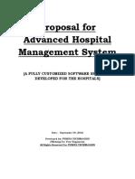 Advence Hospital Management System