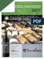 Catalogo Navidad TomeVinos 2017 - Alcobendas