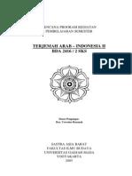 Terjemah Arab-Indonesia II