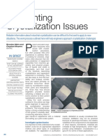 Confronting Crystallization Issues
