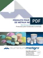 Documentation Produits Fabriques Aluminium Martigny