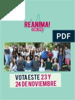 Programa REANIMA! CEM 2018
