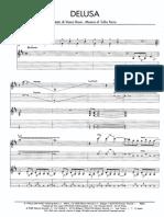 Delusa Pianoforte Vasco Rossi