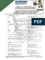 Aritmetica - 1er Año - I Bimestre - 2014