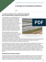 Advocate.gaalliance.org-La Correcta Circulación Del Agua en Los Estanques Acuícolas Es Crítica