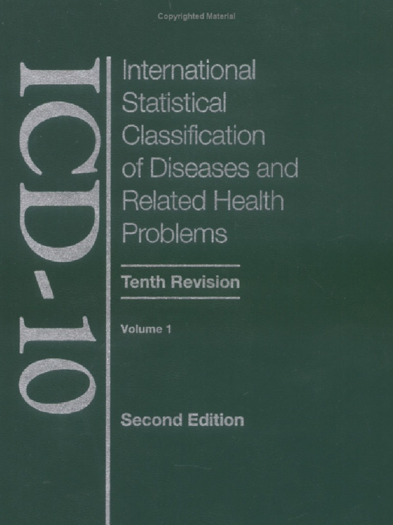 ICD-10 Volume 1 - Tabular List | Mycobacterium