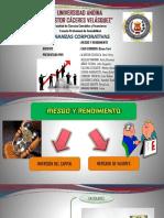 Riesgo y Rendimiento (Diapositiva)
